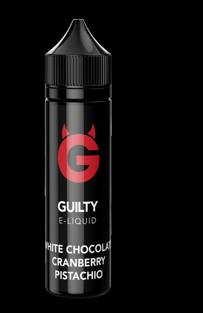 White Chocolate Cranberry Pistachio Guilty E-Liquid