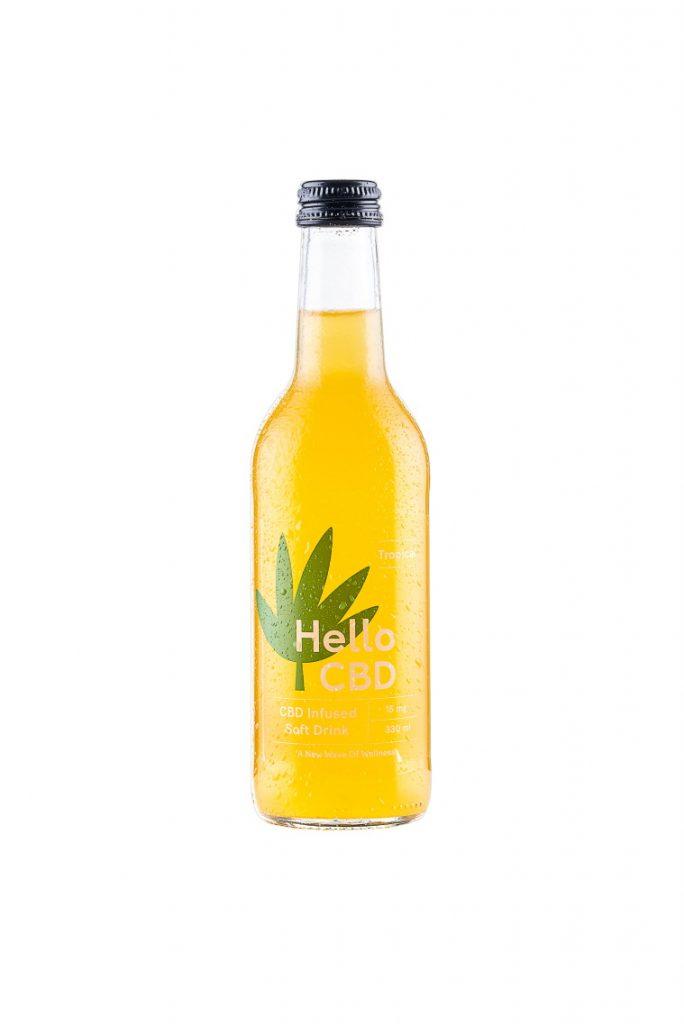 Tropical CBD Infused Drink Hello CBD