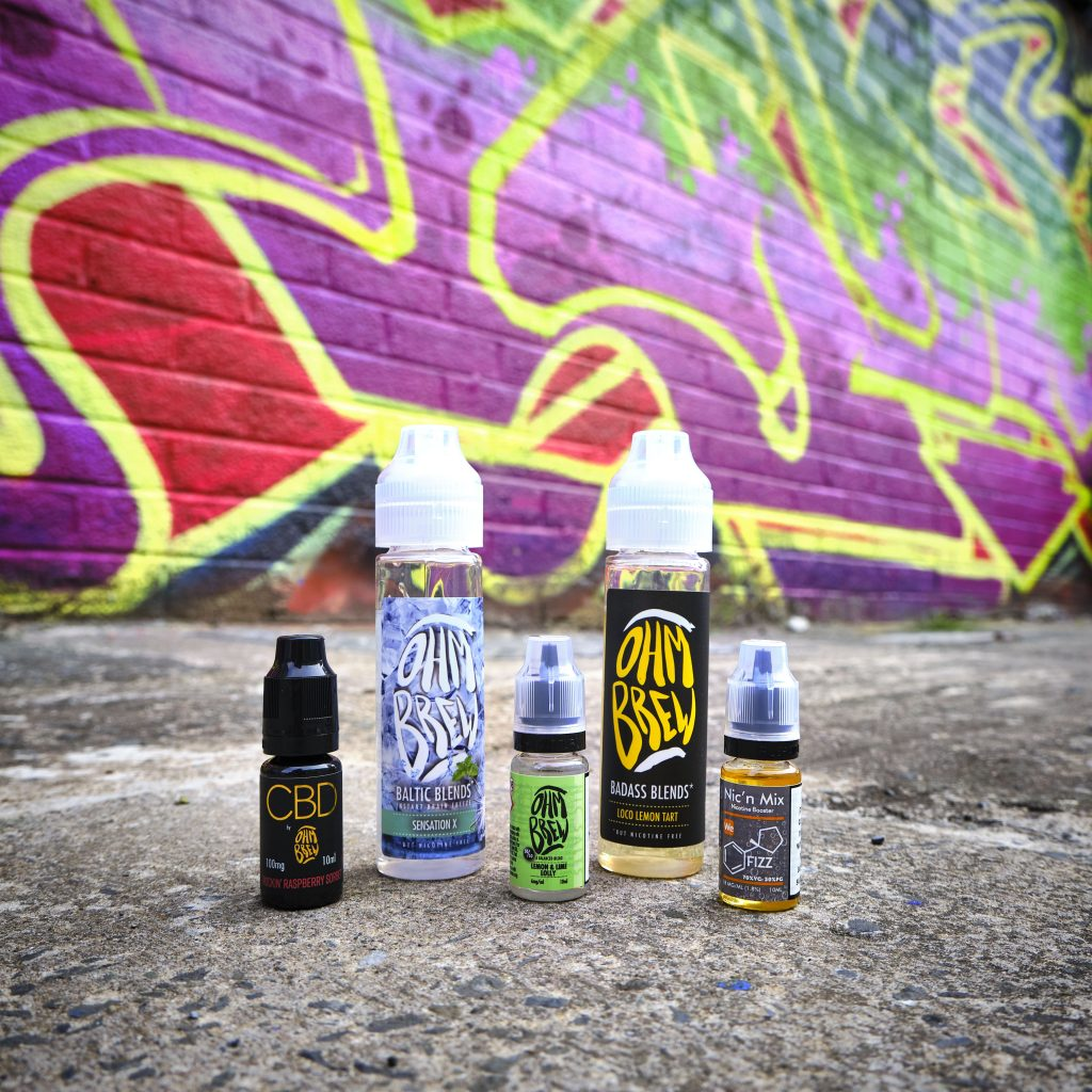 Badass Blends Baltic Blends Nic' N Mix CBD
