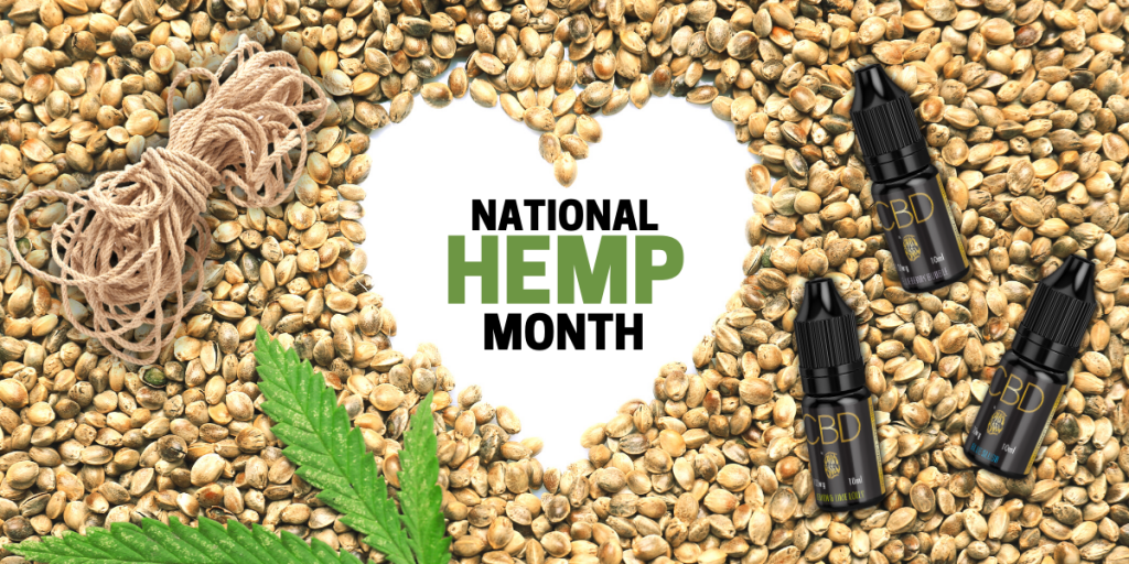 National Hemp Month CBD Blog Header