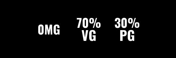 0MG 70VG 30PG