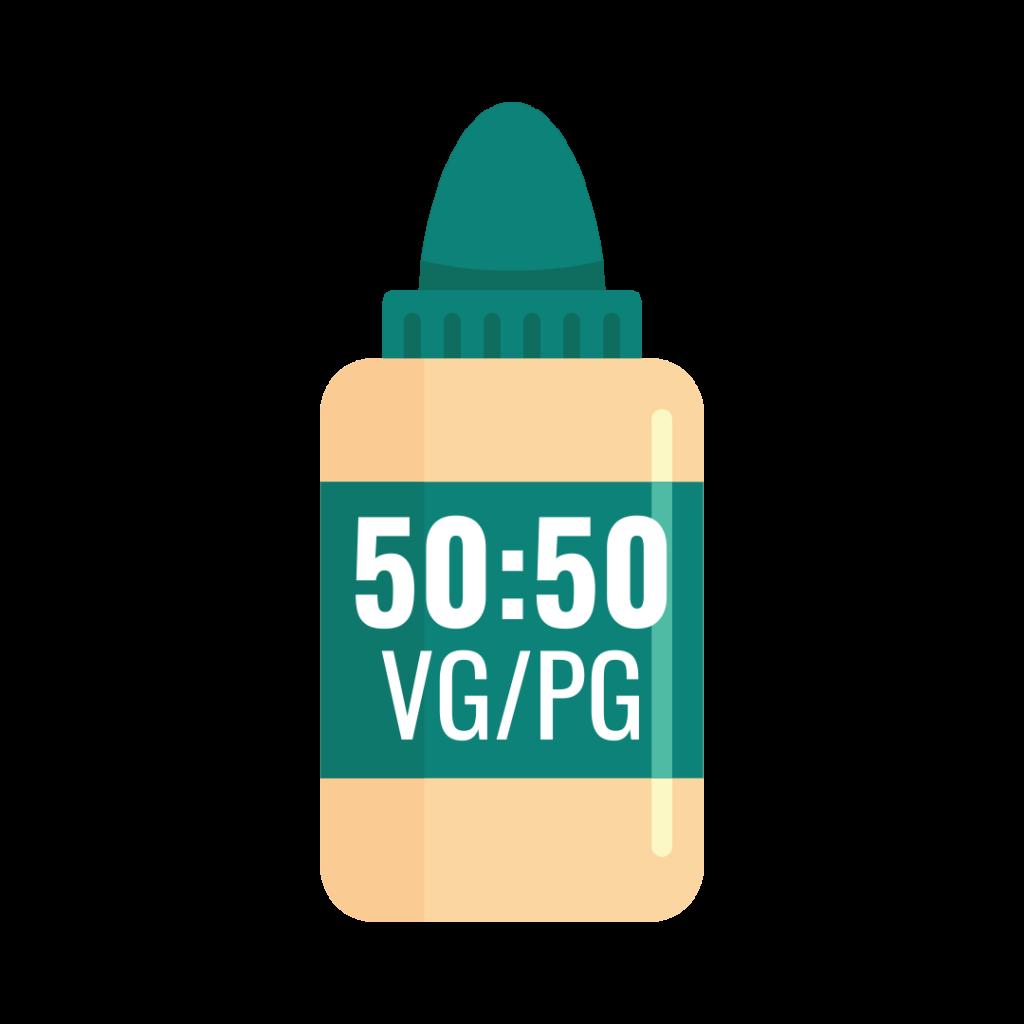 50:50 VG/PG